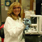 Debra Neilan - she is our lead technician we call her the Pipette whisperer - from single channels, multi channels, electronic, repeater, pipet aids and bottle top dispenser burette. Debra has over 18 years experience in this industry and is well respected in her field